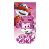 Osuška Super Wings Růžová