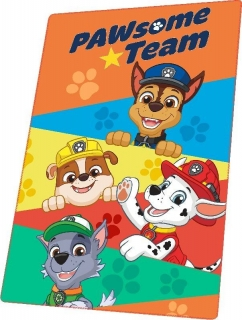 Fleece deka Paw Patrol Team 100/150