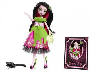 Draculaura Monster High Sněhurka